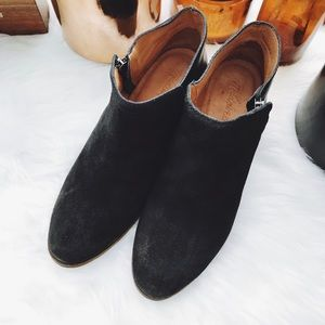 Madewell Leather/Suede Booties